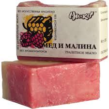 Натуральное <b>мыло Мед и малина</b>