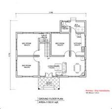 House Plan With Bedrooms   Kerala Single Floor House Plans        House Plan With Bedrooms   Single Floor House Plans