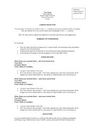 career objective templates what to write in career objective for a resume
