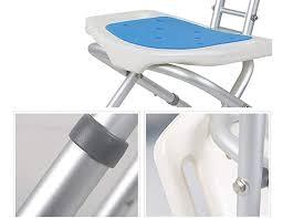 <b>Bath</b> Seats,Shower Chair with <b>Backrest</b>,<b>Aluminum Alloy</b> Non-Slip ...