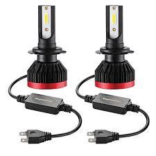 <b>2PCS Mini Led</b> Bulb <b>Car</b> Headlight H7 100W 20000LM 6000K <b>Car</b> ...