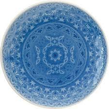 <b>Тарелка закусочная Easy</b> Life Ambiente, EL-R1212/AMBB, голубой ...