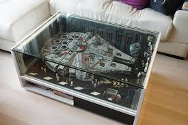 Lego Furniture Millennium Falcon As Furniture Brick Brains