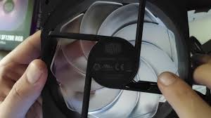 Fan <b>Cooler Master SF120R RGB</b> - YouTube