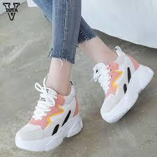 <b>VTOTA Women Sneakers</b> Ladies <b>Fashion Women</b> Casual Shoes ...