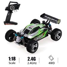WLtoys A959-A <b>RC</b> Car 2.4G <b>1/18</b> 4WD 35KM/H Racing Car High ...