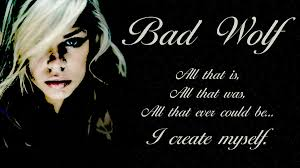 Image result for bad wolf doctor who