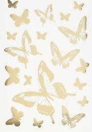 """<b>Набор</b> виниловых <b>наклеек Decoretto</b> """"Сияющие бабочки"""" для ..."""