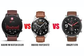 <b>Xiaomi</b> Mi <b>Watch Color</b> VS HUAWEI <b>Watch</b> GT2 VS Amazfit GTR ...