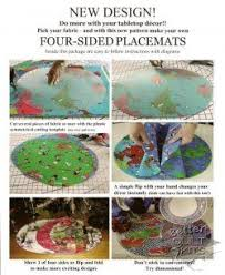 Several Settings 4-sided <b>Placemat</b> Template | <b>Placemats patterns</b> ...