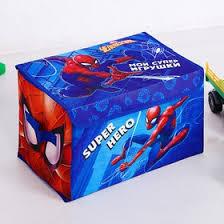 """Корзина для <b>игрушек</b> """"Мои супер <b>игрушки</b>"""", <b>Человек</b>-паук, 37 х 24 ..."""