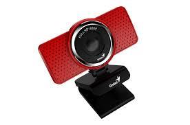 <b>Веб камера Genius ECam 8000</b>, Full-HD 1080p, USB, красная, арт ...