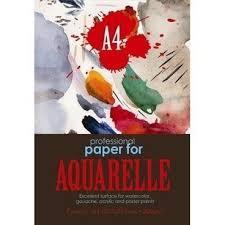 Купить Папка для <b>рисования</b> акварелью А4,7л,блок ГОЗНАК ...