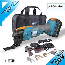 <b>20V Quick Release Oscillating Multitool</b> Anti Vibration Variable ...