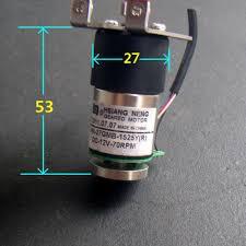 Gearmotors <b>12V 70RPM</b> DC High Torque <b>Full Metal</b> Gear Geared ...