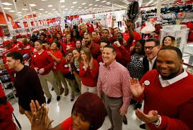 target reports strong start to black friday in stores and record