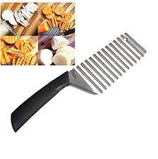 Generic Sanying Kitchen tools <b>1 PCS</b> Crinkle Cut Knife <b>Potato Chip</b> ...
