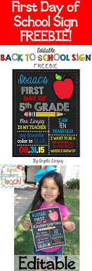 best ideas about preschool first day great first day of school sign and a great way to
