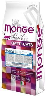 <b>Корм</b> для кошек <b>Monge</b> Superpremium <b>Cat</b> для профилактики МКБ ...