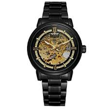 Steel Strap <b>Watches</b> for Men Bfower T-<b>Winner Hollow</b>: Amazon.in ...