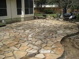 stone patio installation: flagstone patio under construction img jpg flagstone patio under construction