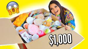 $1,000 <b>SLIME</b> MYSTERY BOX - YouTube