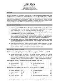 good resume profile examples linkedin profile examples resume  example good resume template