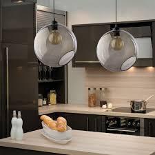 <b>Подвесной светильник</b> в стиле лофт со стеклянным ...