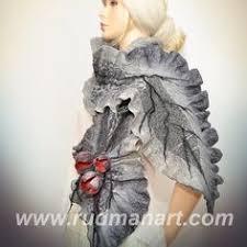 Рудман Ирина | <b>Шарф</b> из войлока, Одежда и Шерсть
