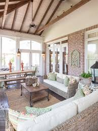 dream house wish list beautiful enclosed porch i love the brick i love add wishlist source outdoor manhattan double