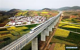 China's <b>high</b>-speed railway length to <b>top</b> 30,000 km in <b>2019</b> - Xinhua ...