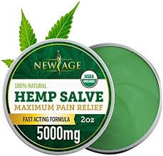 Hemp Oil Balm Salve for Pain Relief - 5000 MG by ... - Amazon.com
