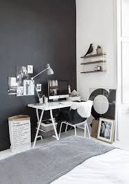 black and white home office corner le sac en papier from ollies and sebs black white home office study