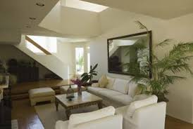 skylights are a good option for natural lighting during the day but a sloped ceiling will best lighting for sloped ceiling