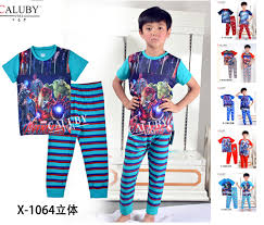 avengers batman superman captain america iron man boy boys kids short sleeve summer pajamas pyjamas sleepwear batman superman iron man