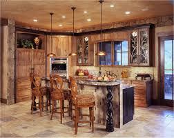 rustic kitchen island:  full image kitchen rustic island plans l shaped brown finish solid oak wood cabinet renovating cape