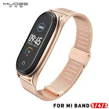 <b>Mi Band 5 Strap</b> For Xiaomi Mi <b>Band</b> 4 Leather <b>Strap Wrist</b> ...