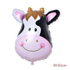Children's Toy 32 types Large Cartoon Animal <b>Foil Balloons</b> Butterfly ...