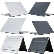 Glossy Clear <b>Hard Shell Laptop Protective</b> Case For Huawei ...
