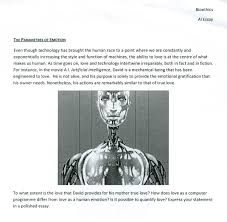 transhumanism essay prompts home