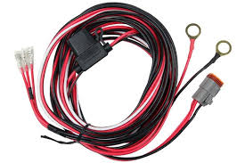 rigid high low led power harness h l wiring harness rigid industries high low led 3 wire power harness