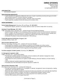 chronological resume sample  admin assistantchronological sample resume administrative assistant p