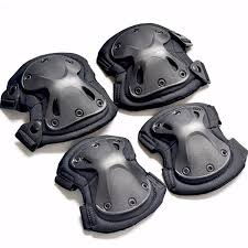 <b>4pcs Set Of Kneepad Cs</b> Tactical Armor Knee Pads Elbow Climbing ...