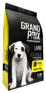 <b>Корм</b> для собак <b>GRAND</b> PRIX (2.5 кг) Large Junior ягненок ...