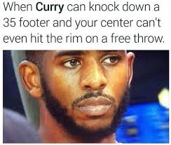How Chris Paul's feeling. - http://nbafunnymeme.com/nba-funny ... via Relatably.com