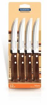 Купить <b>Набор ножей</b> для стейка Tramontina Tradicional 127 мм <b>12</b> ...