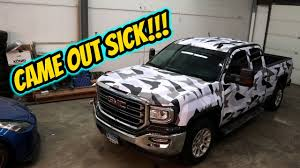 <b>VINYL</b> WRAPPING A <b>TRUCK</b>!!! - YouTube
