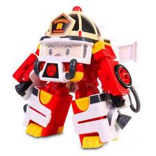 Робот-<b>трансформер Silverlit</b> Robocar Poli Рой 10 см + <b>костюм</b> ...