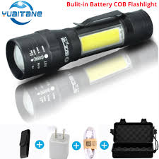 bike light ultra bright 8000 lumens zoom t6 bicycle front led flashlight lamp usb rechargeable cycling by 18650 battery