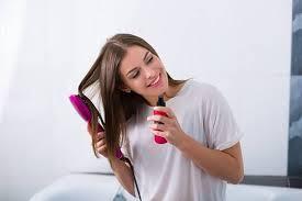 Как пользоваться <b>сухим шампунем для волос</b>: пошаговая ...